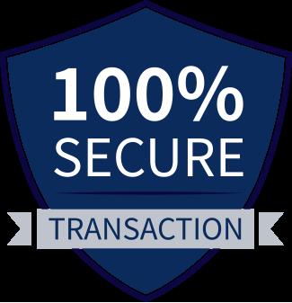 100% Secure Transaction